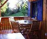 Erholung im Gartenhaus in Christa´s Ferienwohnungen in Bodenmais